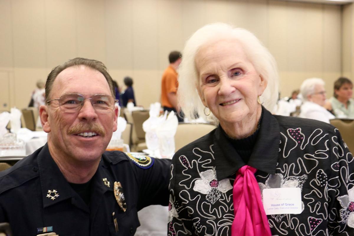 Chief Steve Pirtle and Lorine Cady