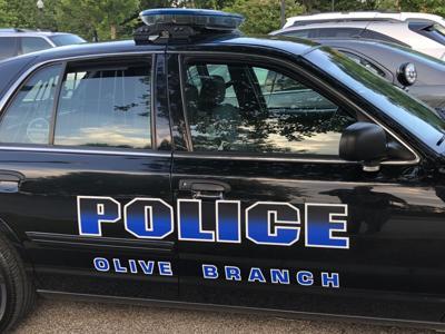 Olive Branch Police Car