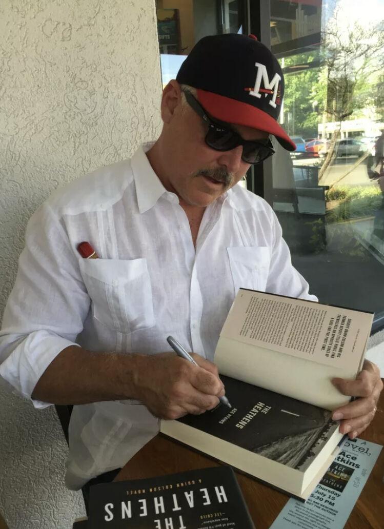 Ace Atkins book signing