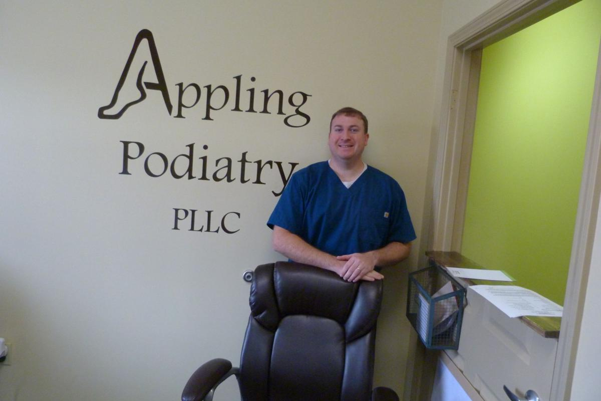 Appling opens podiatry practice