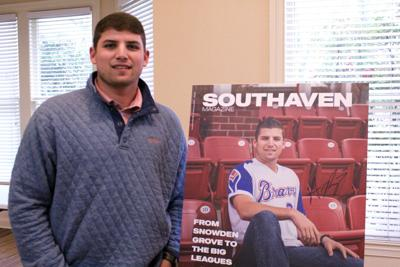 Riley on cover of Southaven Magazine