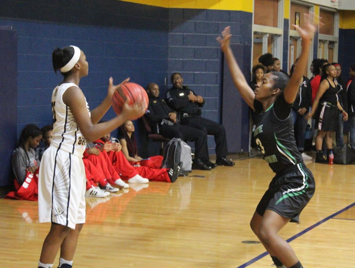 Olive Branch girls basketball