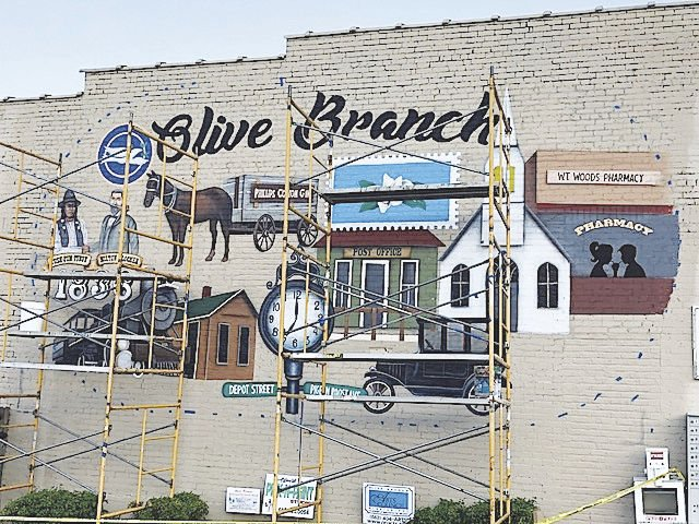 Painting the town in Olive Branch
