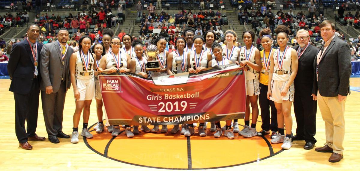 Olive Branch girls state champions