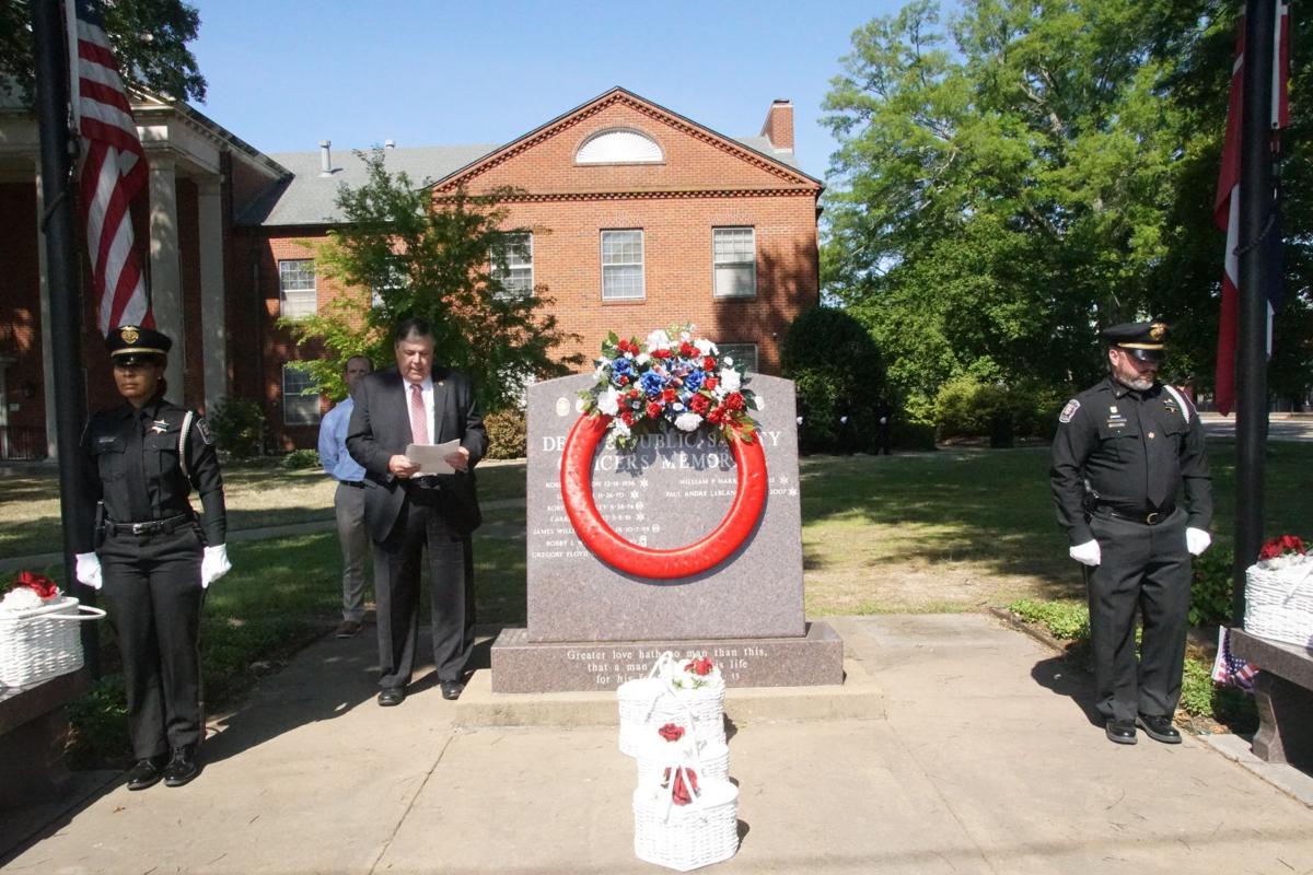 Law enforcement memorial service held