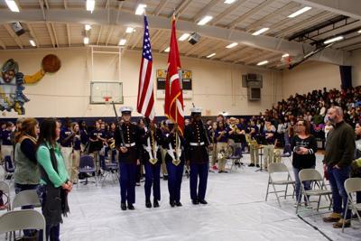 Olive Branch Middle School Veterans Program