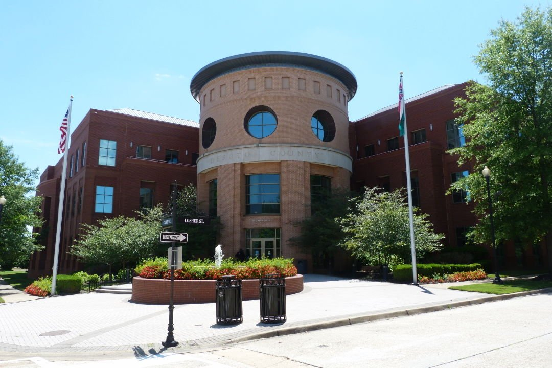 DeSoto County Administrative Building graphic