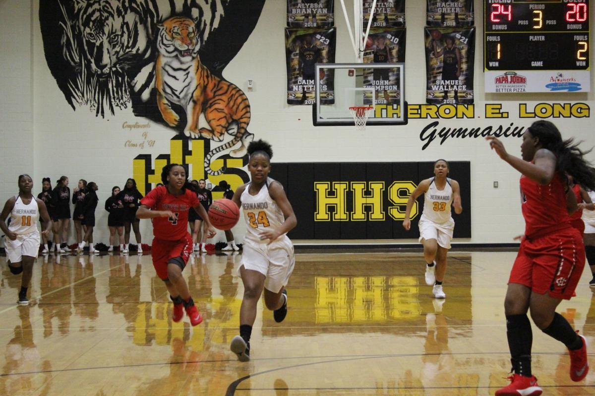 Hernando-Center Hill girls basketball