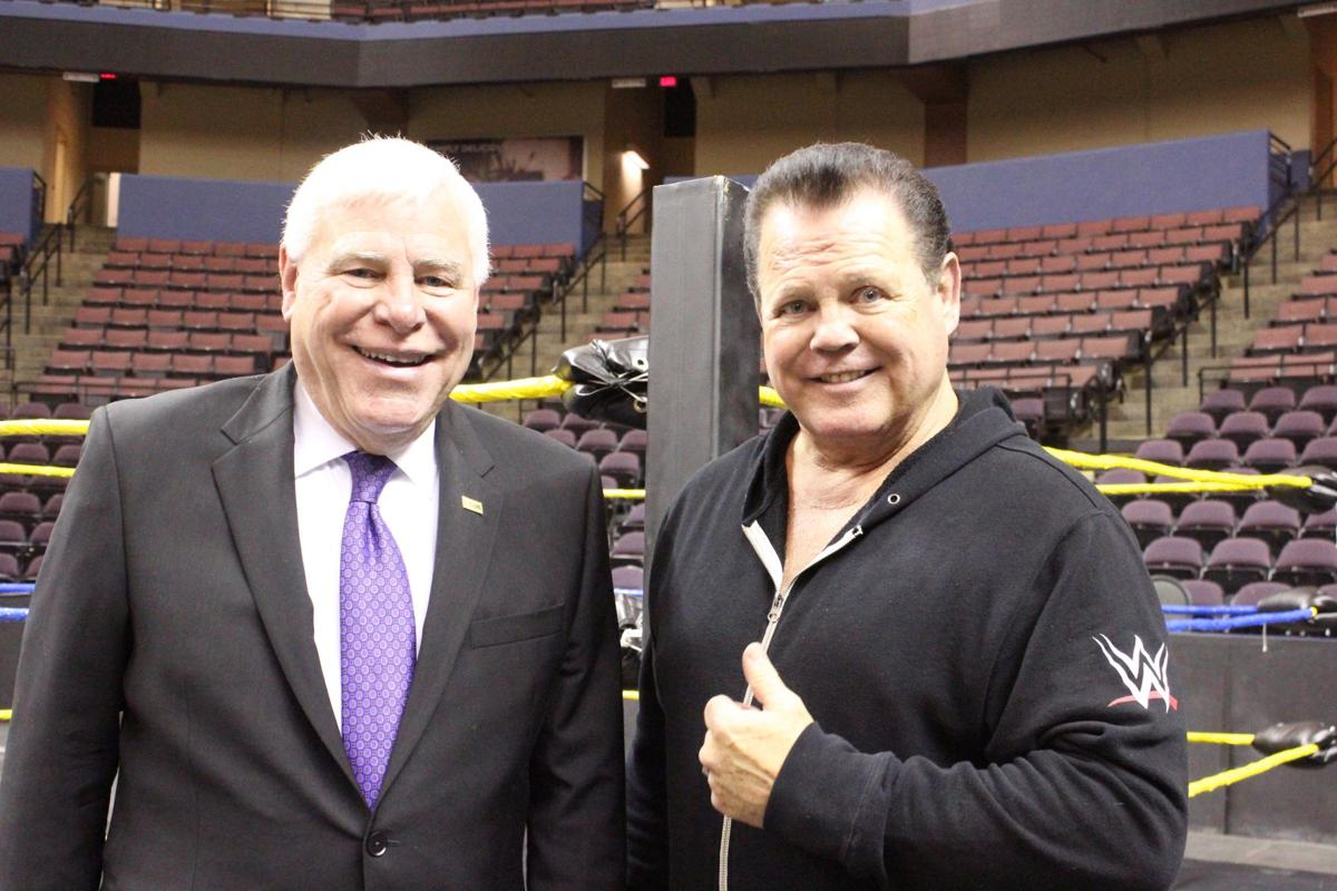 Dave Brown and Jerry Lawler