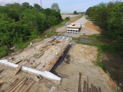 Star Landing Bridge construction