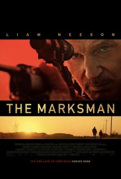 marksman movie poster