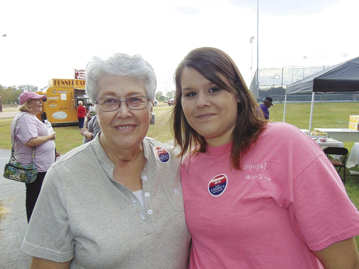 Betty Thompson & Valarie Wiliams
