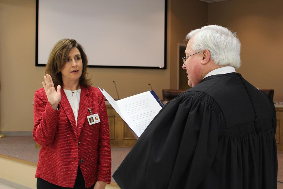 Henley sworn into board position