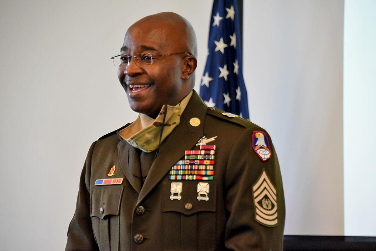 Command Sgt. Maj. Dodson