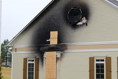 DeSoto County Visitors Center fire