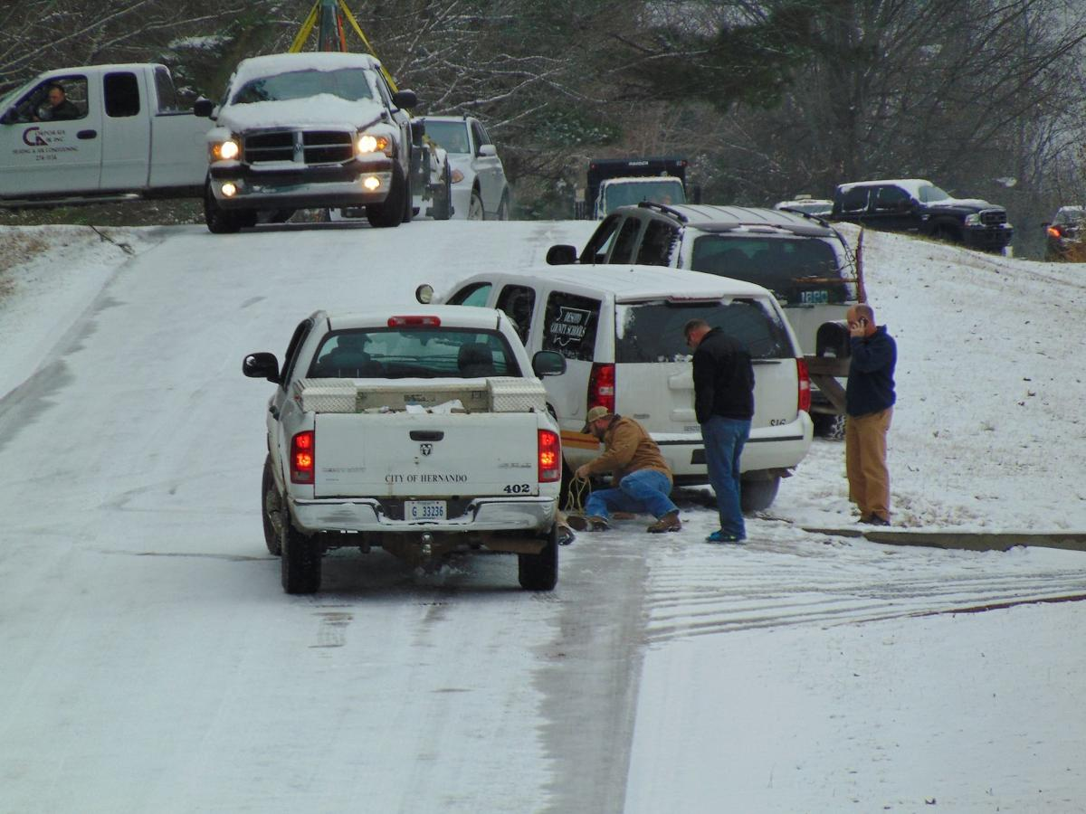 Snow, ice caught officials off guard