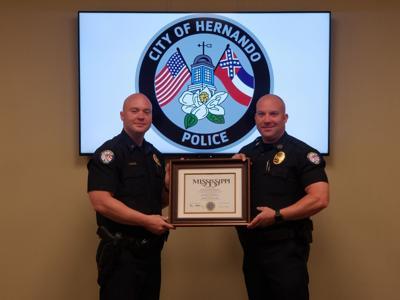 Hernando Police Award