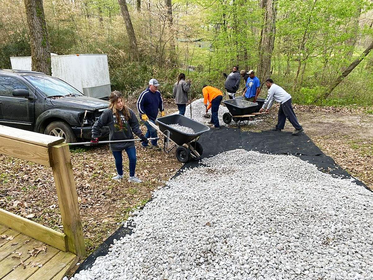 Volunteers with Restoration NOW
