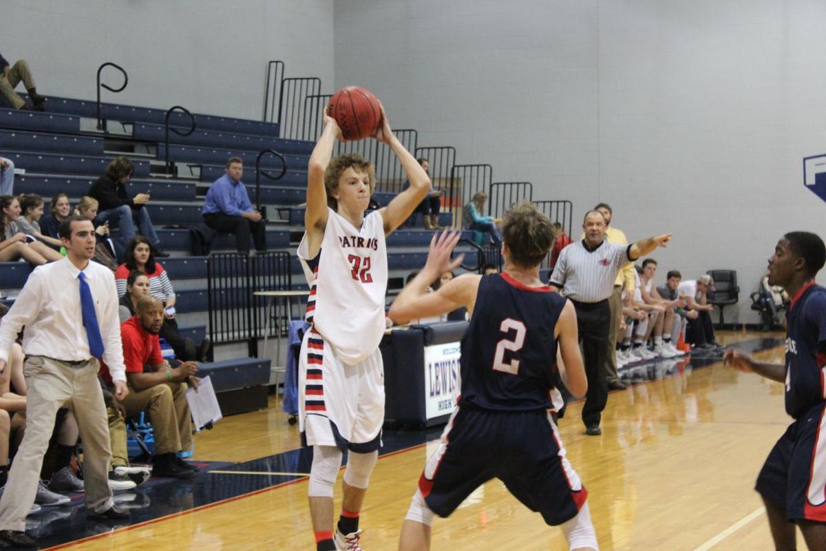 Lewisburg Rossville Christian basketball