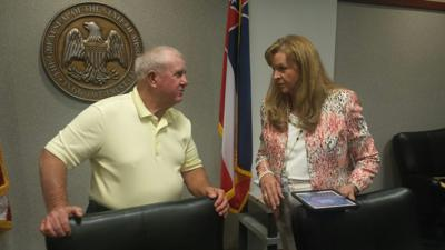 Medlin and Lynchard discuss budget