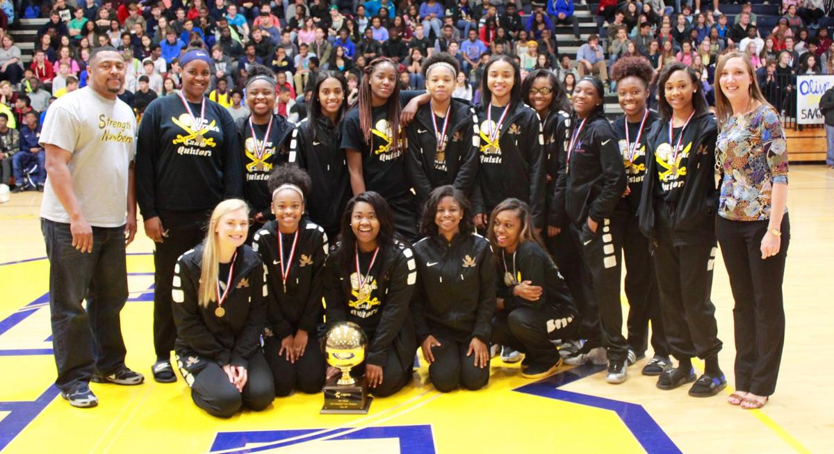Olive Branch girls basketball champs