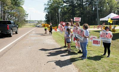Supporters and Voters at Hernando Fire Station #2