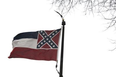 Parker calls for change in state flag