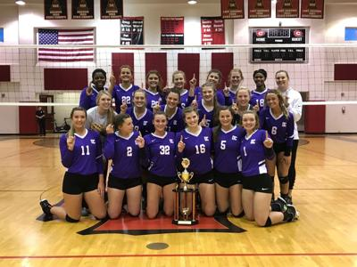 DC Volleyball wins Clinton Invitational