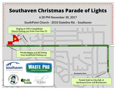 Olive Branch Christmas Parade 2020 Route New start for Southaven Christmas parade | News | desototimes.com