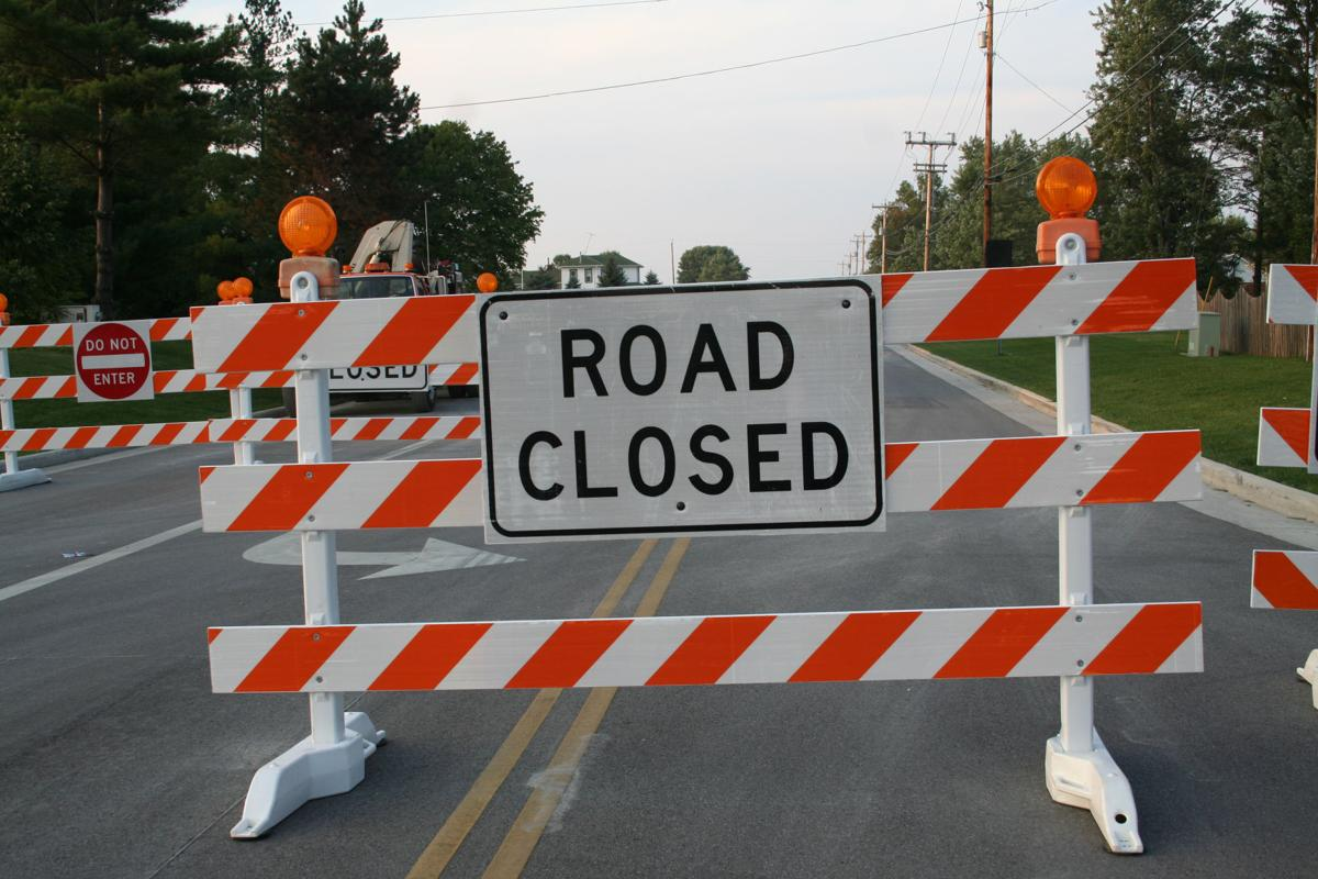 road closures due to fires - photo #35