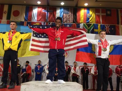 Cordarius Harris world champ