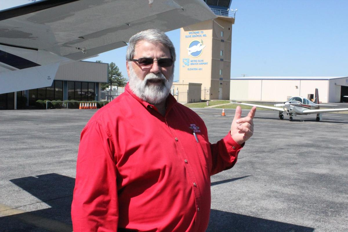 Ed Woods, Olive Branch Airport (copy)