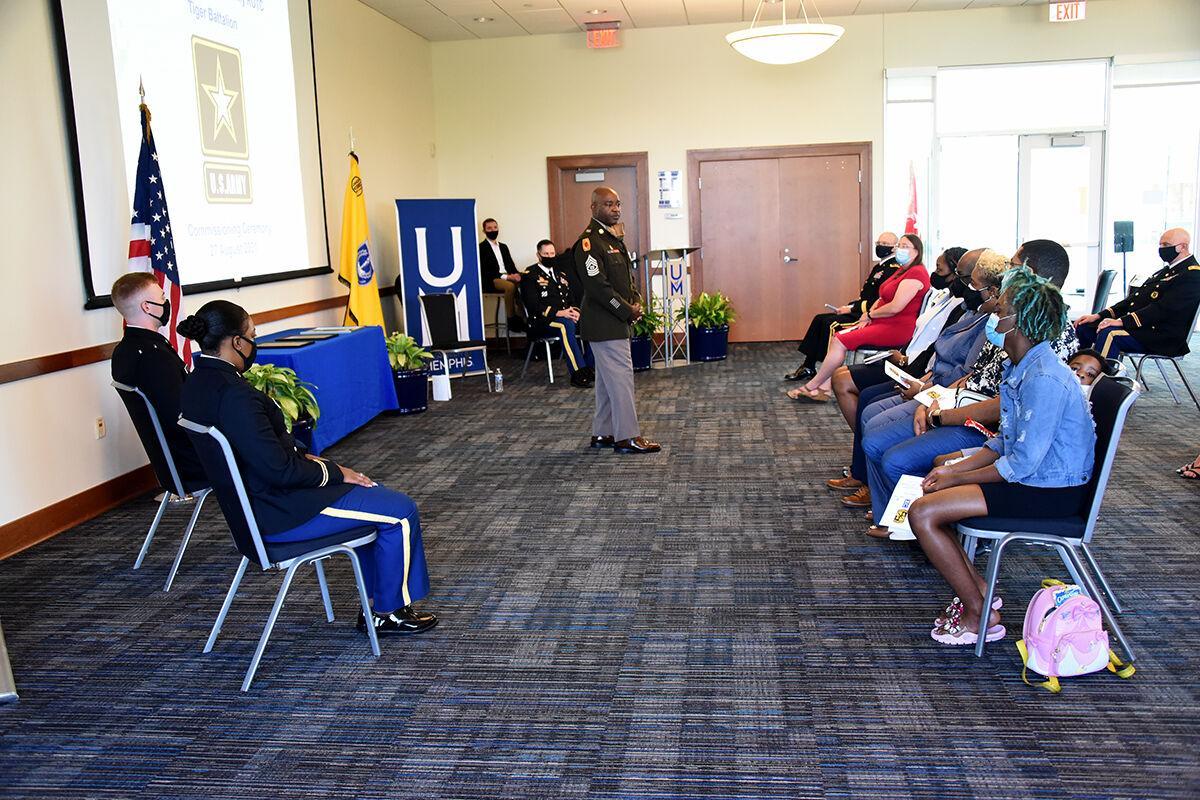 Dodson ROTC ceremony