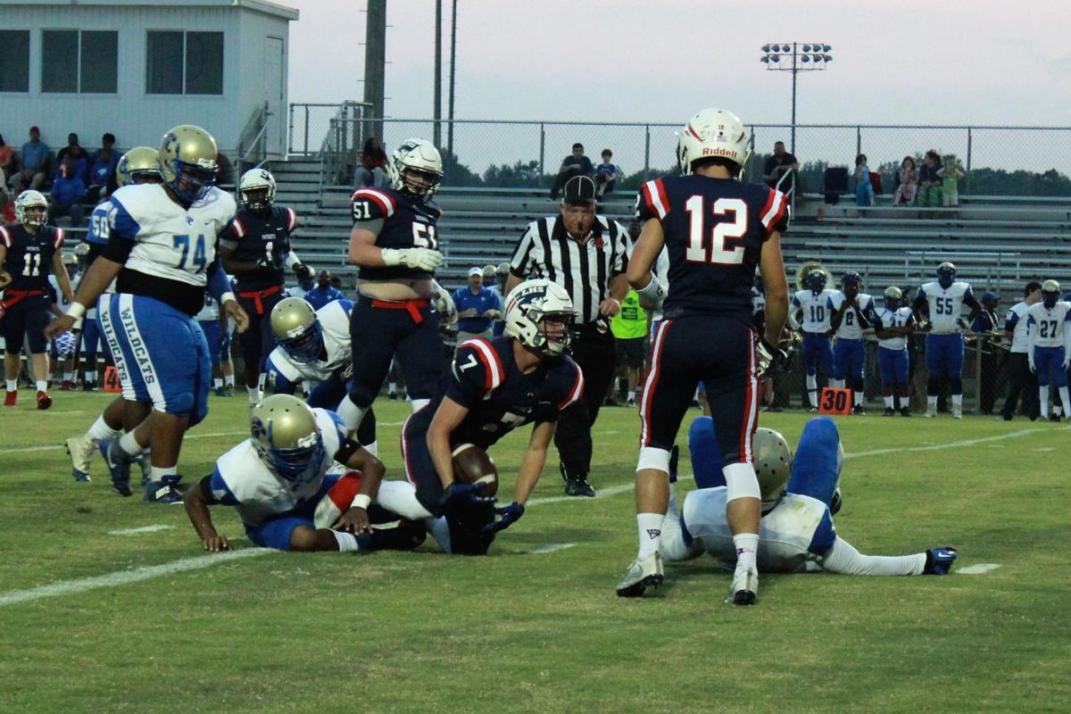 Lewisburg-Fayette-Ware football