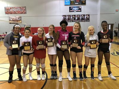 First team all-DeSoto County volleyball named