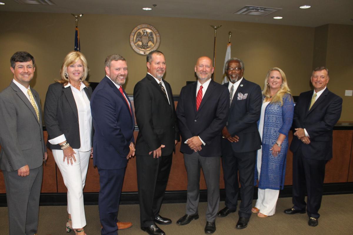 New Mayor and Board of Aldermen