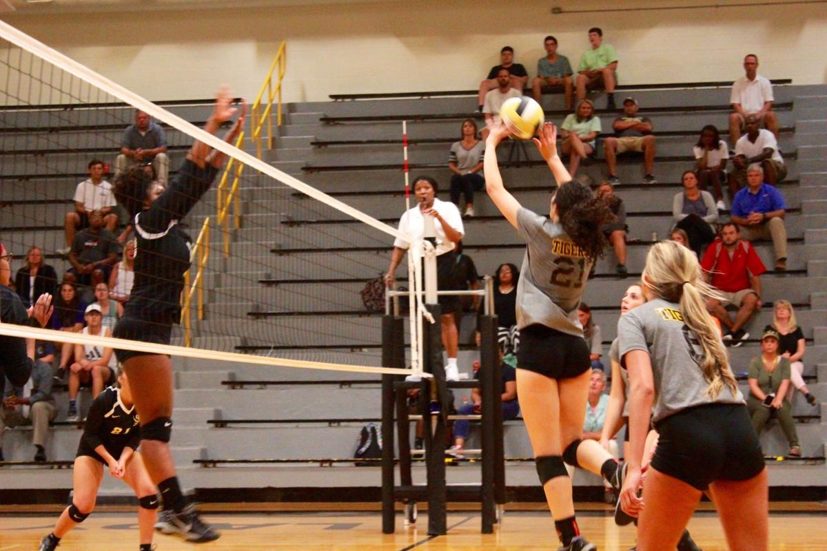 Hernando-Olive Branch volleyball
