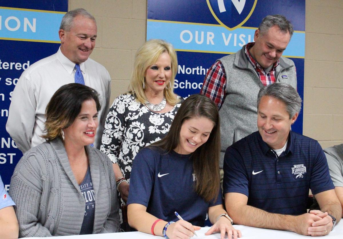 Lauren Gross signing with North Florida