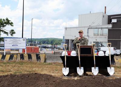 Navy and NORESCO mark Energy Security Initiative on SUBASE with ceremonial groundbreaking