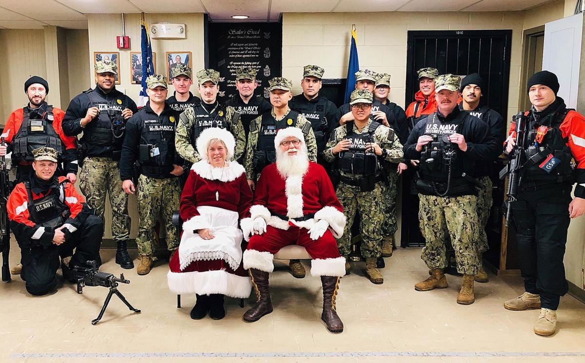 SUBASE lights up the night for Christmas