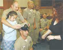 Navy Team New London pins new chief petty officers | News