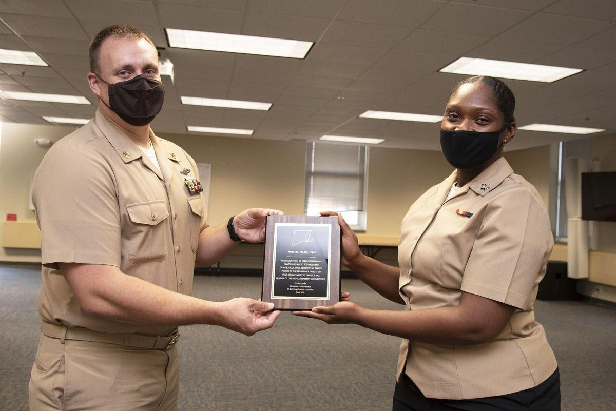 SUBASE Sailors recognized virtually as Service Person of the Month