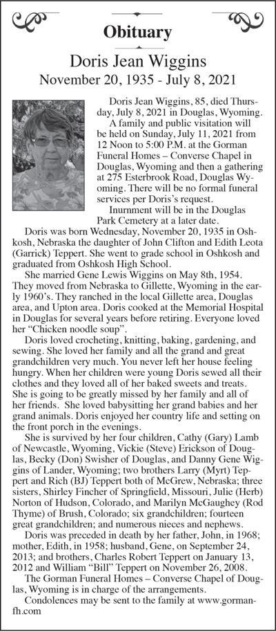 Doris Jean Wiggins