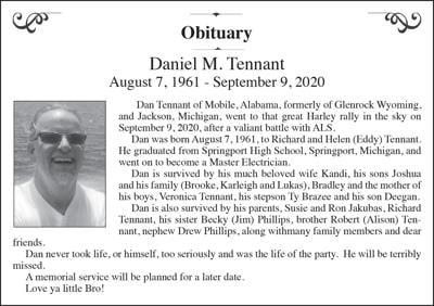 Daniel M. Tennant
