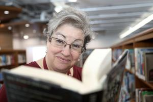 A new cover: Moore takes over as library director