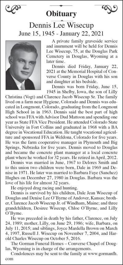 Dennis Lee Wisecup