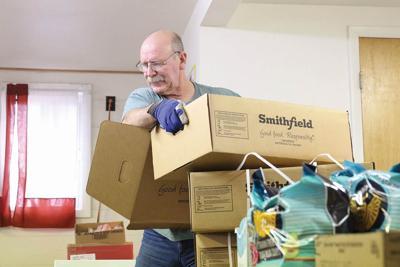 Trinity Baptist volunteers make food pantry possible