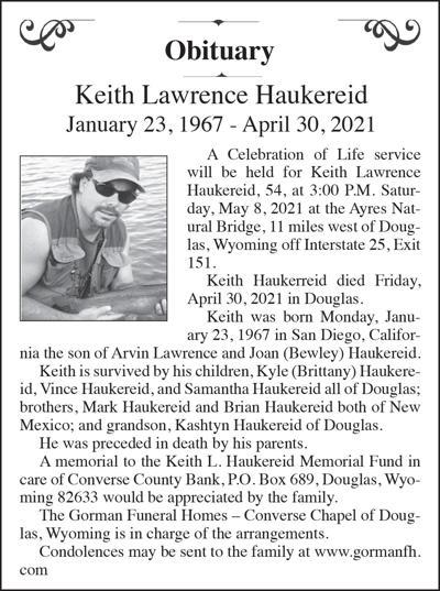 Keith Lawrence Haukereid