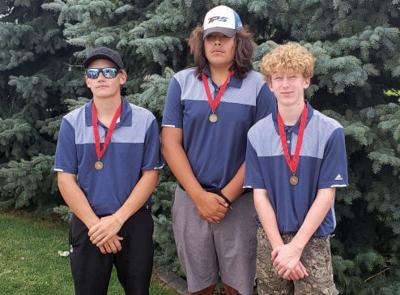Golf sixth place