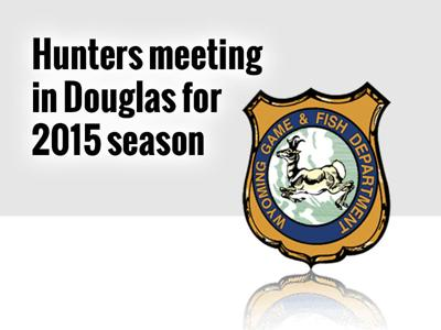 2015 G&F hunters' meeting